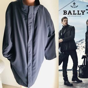 BALLY Men's Microfiber Mid-Length Coat Siz…